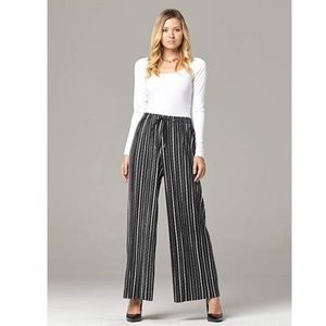 High Waist Wide Leg Palazzo Pants
